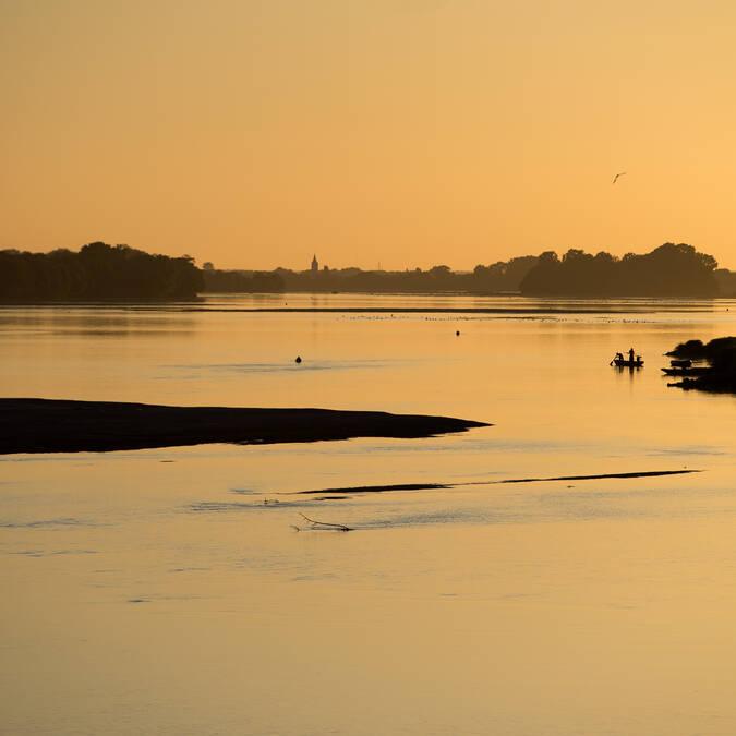 Coucher de soleil en bords de Loire © Jean Sébastien Évrard