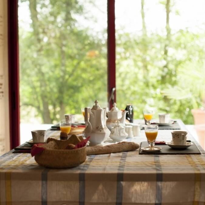 Breakfast in the heart of the Loire Valley vineyards - Moulin de Gaubourg © Rights reserved