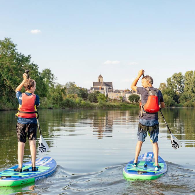 Paddle sur la Sarthe