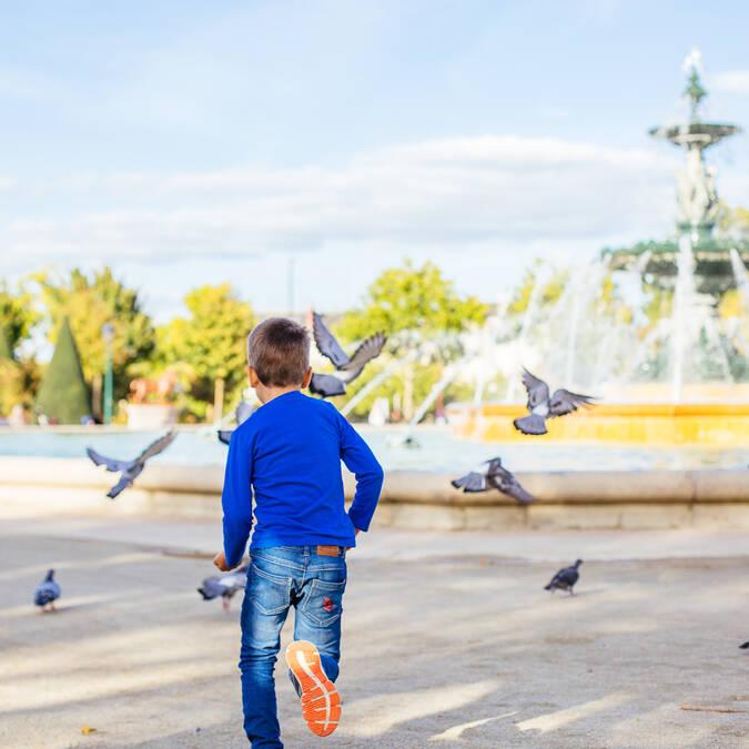 Jardin du Mail en Angers © Les Conteurs