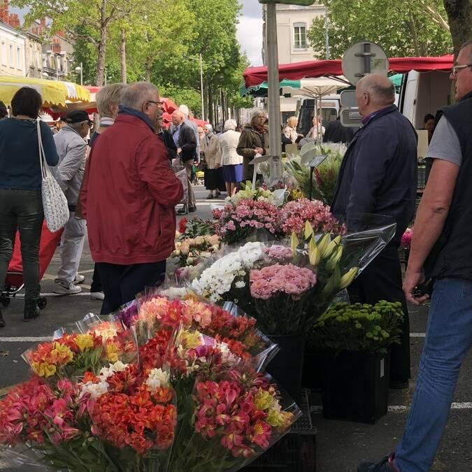 Marché place Lafayette