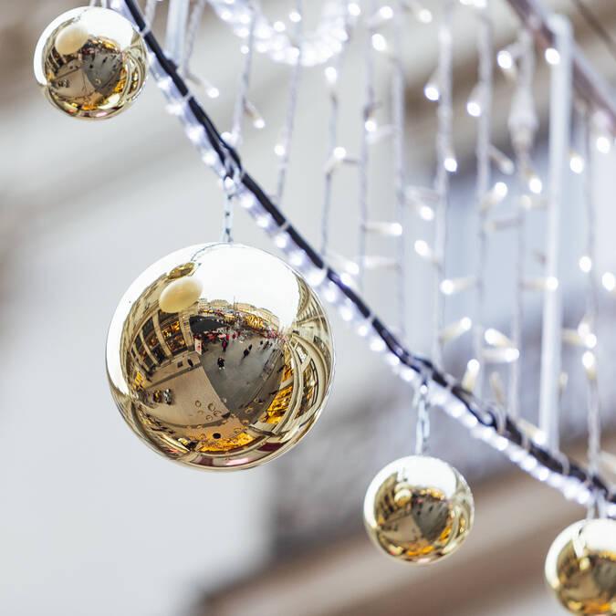 Décorations de Noël © Christophe Martin