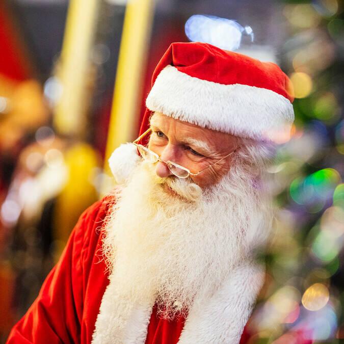 Père Noël à Angers