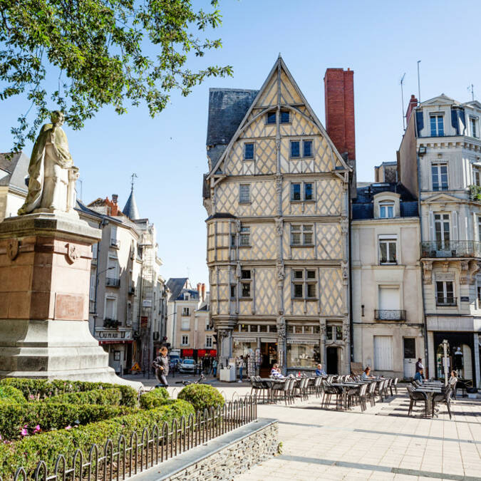 Jeu de piste centre-ville d'Angers - idées cadeaux © Dorothée Mouraud