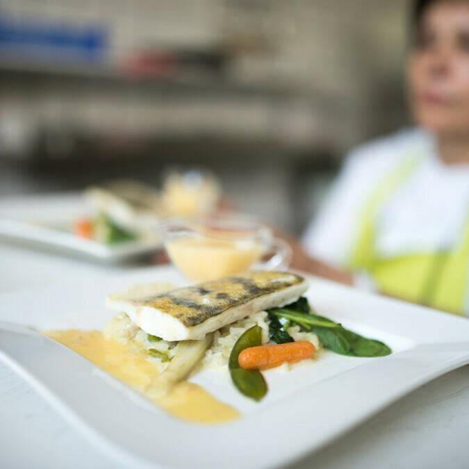 Restaurante La Caillote pescado a la carta © Jean Sébastien Evrard