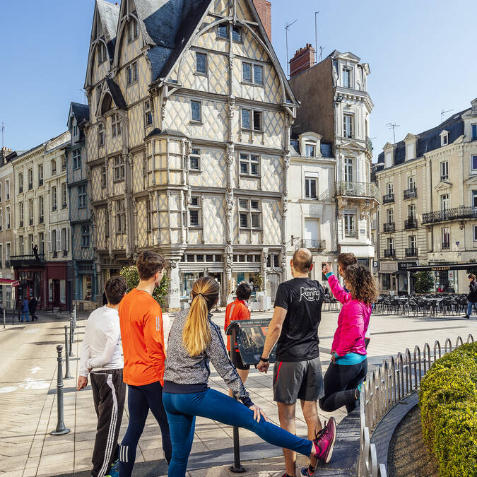 Angers Running Tour © Christophe Martin
