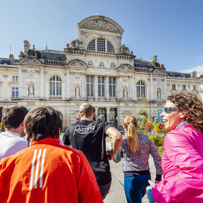 Place du Ralliement, Angers Running Tour © Christophe Martin