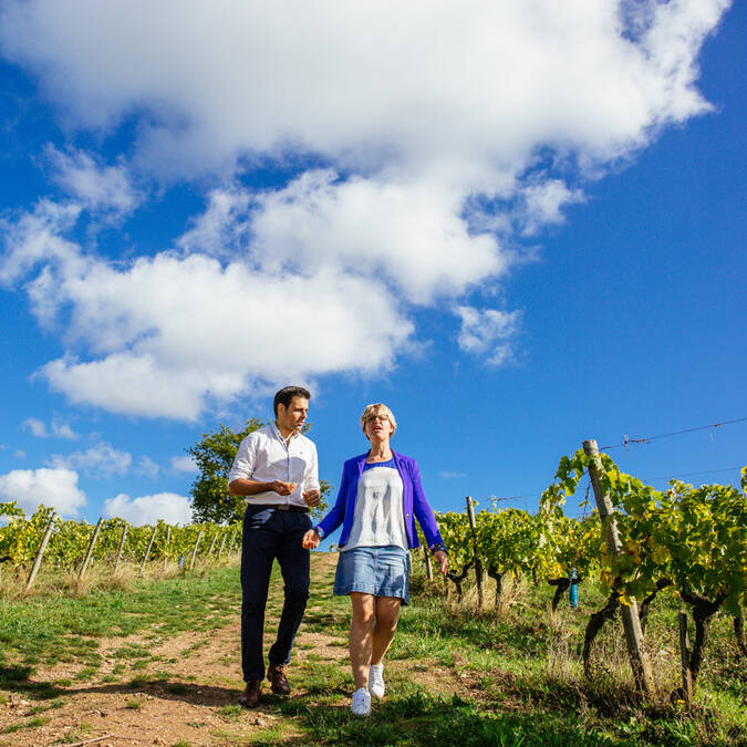 Romantic weekend in the vineyard © Les Conteurs