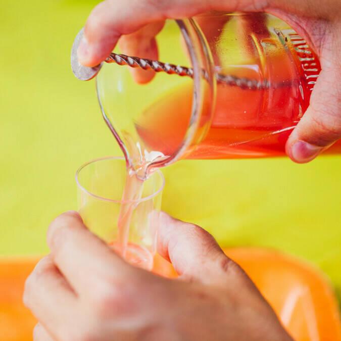 Cocktail durant les Soirées dégustations