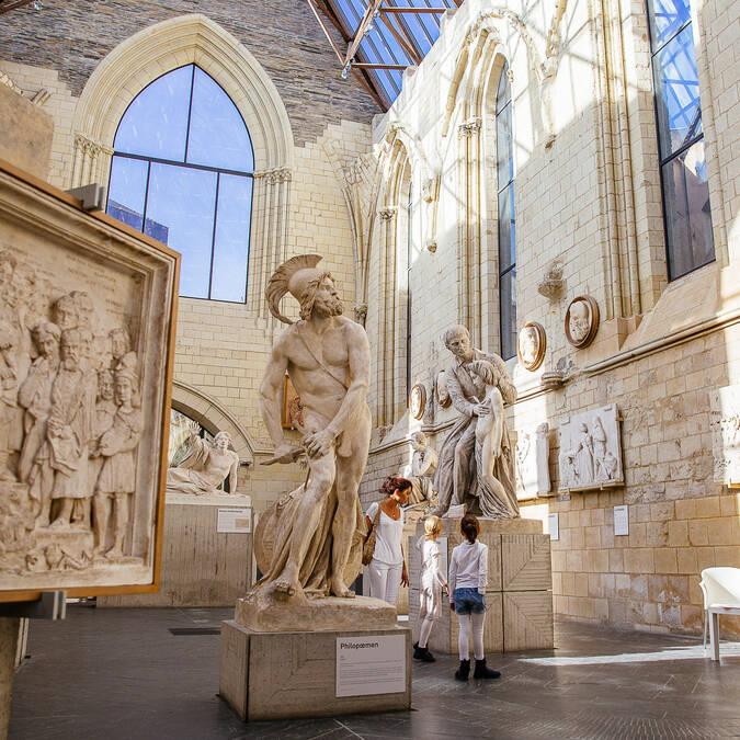 Grâce au City Pass, découvrez la Galerie David d'Angers © Les Conteurs